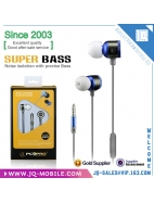 Christmas Gifts Metal Earphone For
